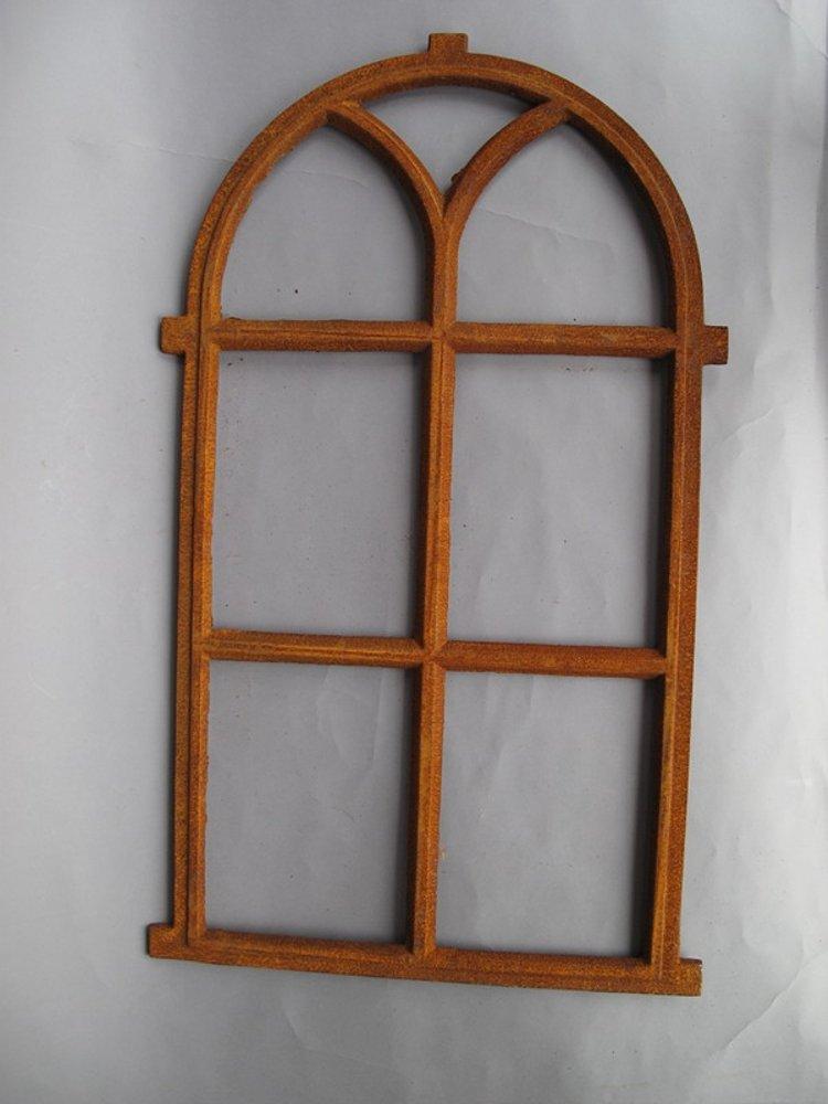 G1070 ghisa finestra in ferro con semi tonda luce for Finestra tonda