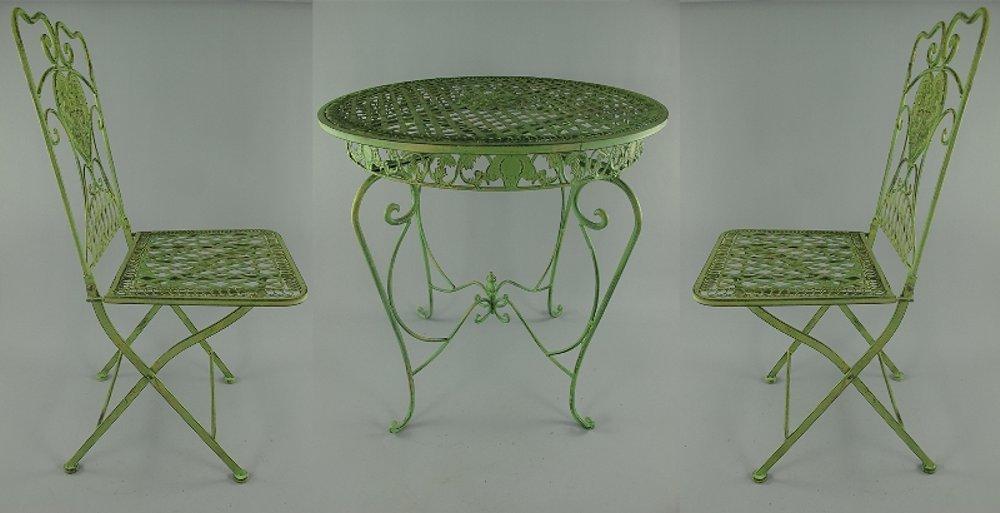 G1077 art nouveau attrezzatura giardino 3 teilige for Arredamento art nouveau