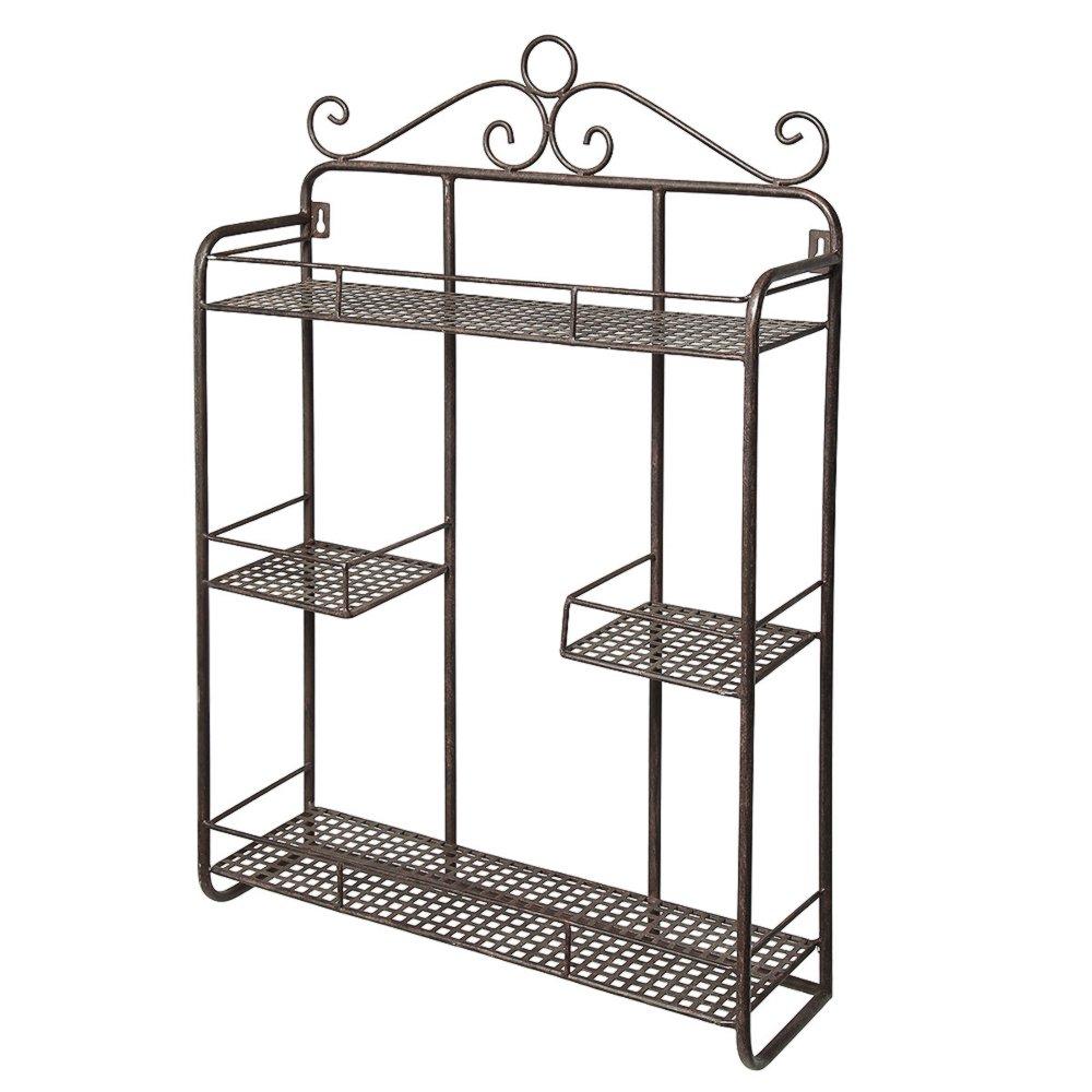 glamorous wrought iron kitchen wall shelves | G1182: Small Nostalgia Wall Shelf, Hanging Kitchen Shelves ...