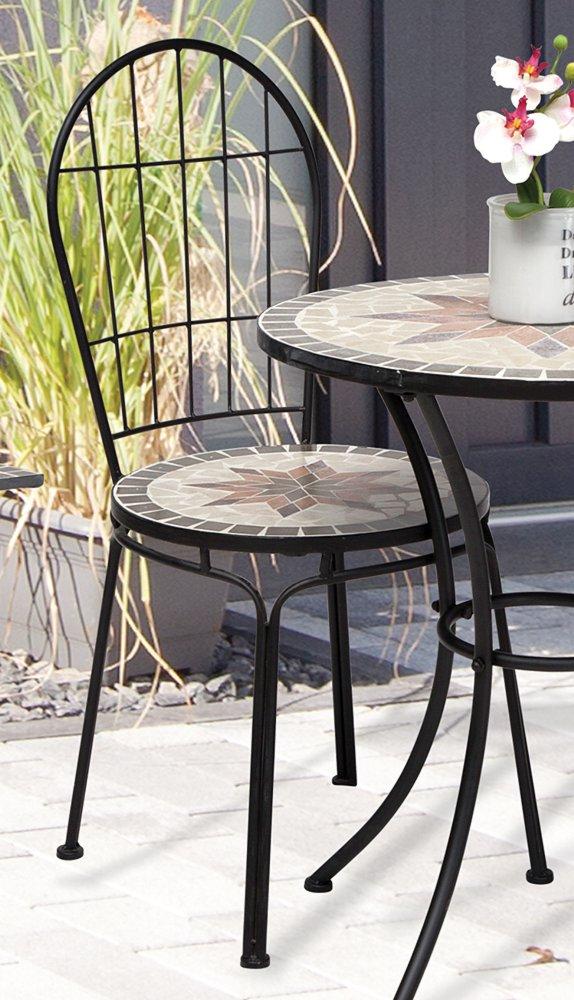 g2363 gartenstuhl constanza mosaik m bel im mediterrane stil stuhl eisen ebay. Black Bedroom Furniture Sets. Home Design Ideas