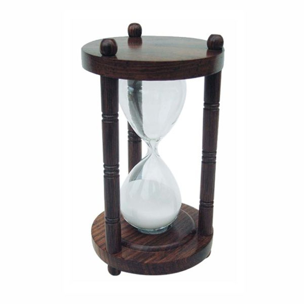 g4137 gro e holz sanduhr glasenuhr stundenuhr l uferuhr 15 minuten ebay. Black Bedroom Furniture Sets. Home Design Ideas