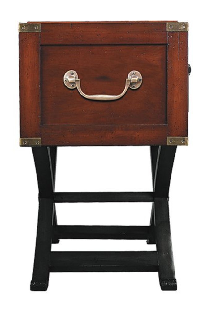 G724 console table colonial style travel commodes table cabinet bicolor - Commode style colonial ...